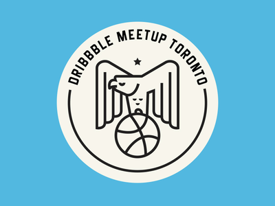 Meetup bird unofficial eagle logo toronto dribbble meetup dribbble meetup