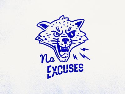 No Excuses Cat