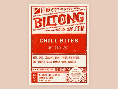 Biltong logo south africa packaging food product beef jerky label biltong