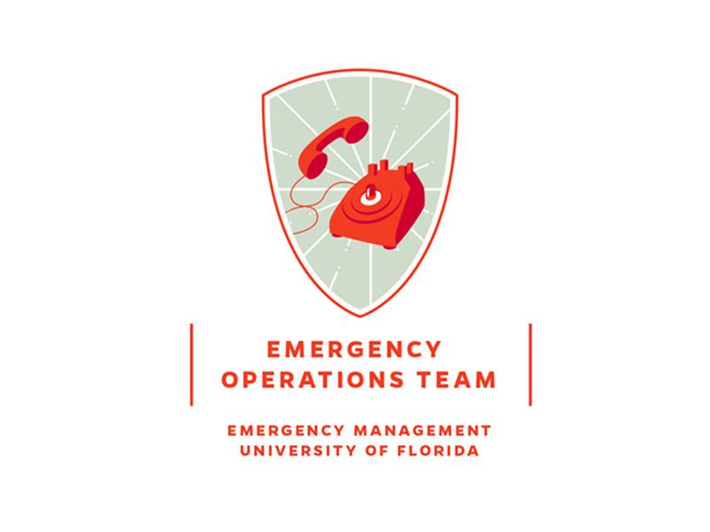 logo draft – Emergency Operations Team superhero batman illustration shield logo