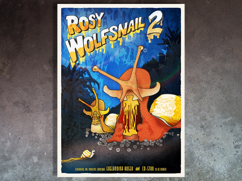 Wolfsnail Illustration snail film poster poster horror illustration