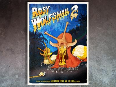 Wolfsnail Illustration snail film poster poster horror illustration