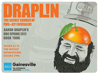 DRAPL!N fb promo image poster ddc citrus florida orange illustration thicklines draplin