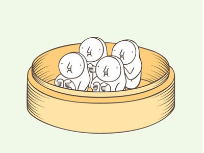The Hiding-in-the-Wrong-Place Club: Shrimp Dumplings shrimp dumplings dimsum food hiding