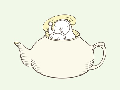 The Hiding-in-the-Wrong-Place Club: Pot of Tea