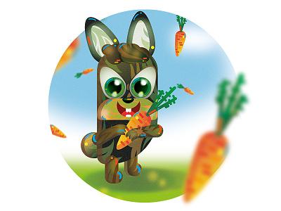 Hare 2019 adobe illustrator ai design vector illustration art