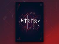 Runic ® - Inscription 1 | Poster Design