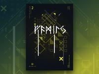 Runic ® - Inscription 2 | Poster Design
