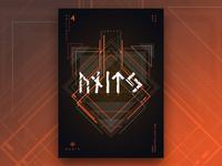 Runic ® - Inscription 4 | Poster Design
