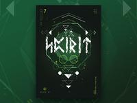 Runic™ - Inscription 7 | Poster Design