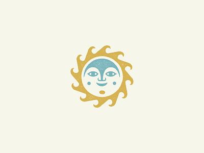 El Sol logo folk sol sun pattern design illustration