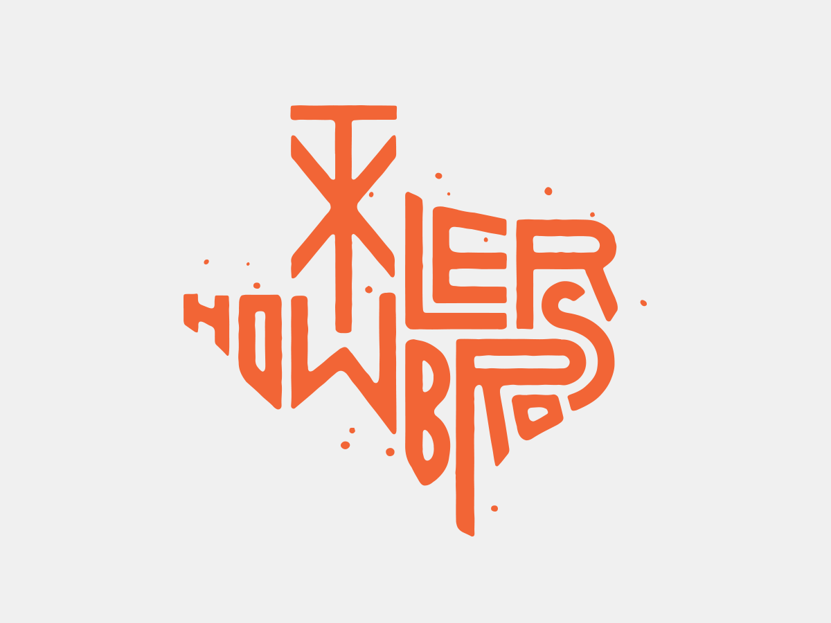 Howler Brothers Texas badge howlerbrothers graphic design design typography texture austin texas illustration