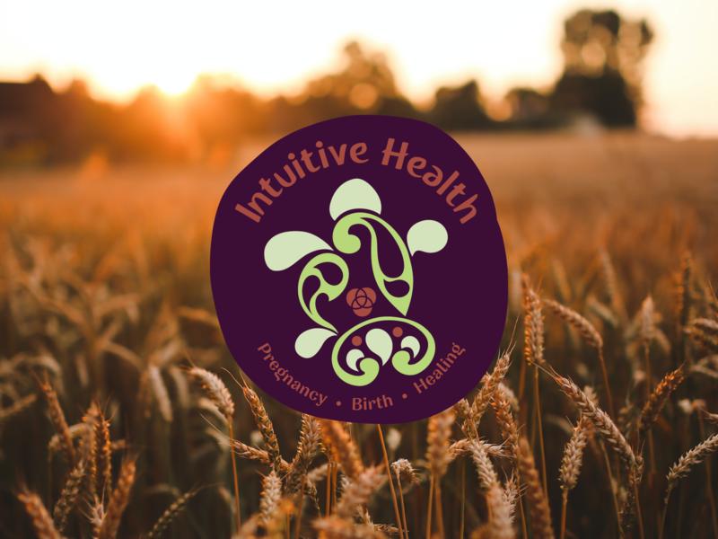 Intuitive Health natural health logodesign branding logo