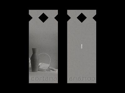 Cortana Ceramics ceramics designer brand design labeldesign mockup illustration monogram design minimal identitydesign logo identity branding branding layoutdesign graphicdesign ceramic