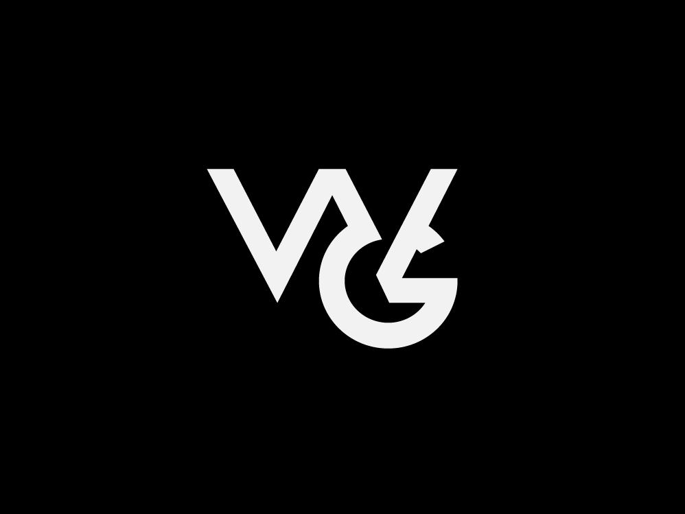 WG Monogram animal branding design stationary identity design type identity branding vector typography lettering icon flat illustration badge 2d monogram minimal logo graphic design branding