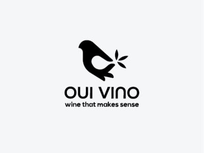 Oui Vino stationary animation identity logotype animal icon badge typography branding design identity design vector identity branding lettering illustration monogram minimal graphic logo design branding