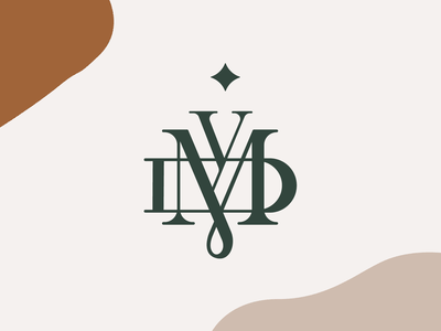 DYM Brandmark minimal badge typography logoype lettering monogram graphic identity branding logo design branding