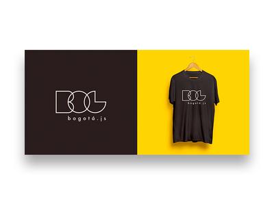 Bogotá.js T-shirt