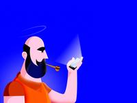 Beard phone