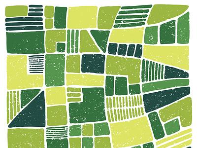 Farm Fields land farming crops pattern texture green landscape farm fields