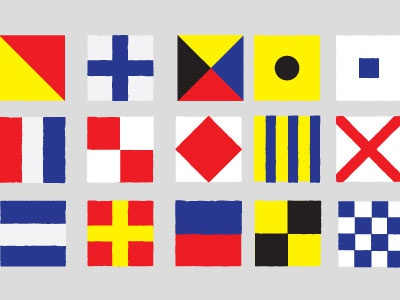 Maritime martime flags