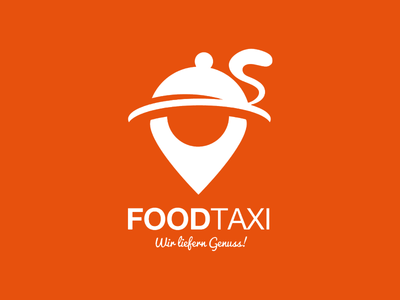 FOODTAXI logo brand identity