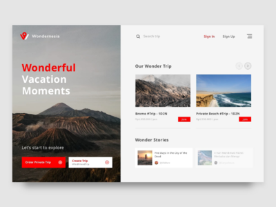 Vacation Website