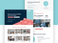 Frontpage for Blok.ai