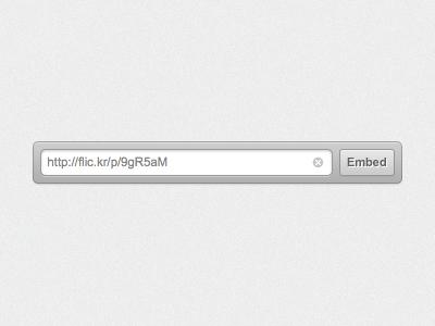 Flickr Embed Widget markdown flickr widget