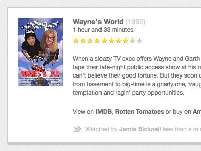 Now Watching movie films webapp