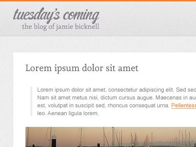 Tuesday's Coming orange tumblog tumblr pixel noise