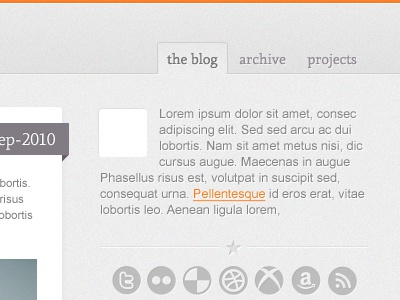 Tuesday's Coming (The sidebar) tuedays coming orange tumblog tumblr pixel noise