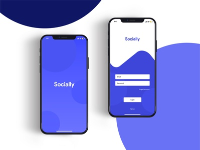 Social Network App Concept