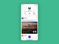 Social Network App - Interactions