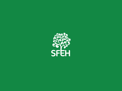 Logo for Southern Forest Employment Hub  logo brand nature tree swirl green