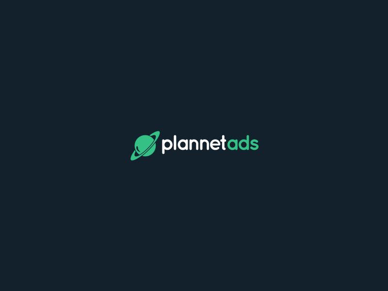 Plannet Ads Logo planet listing classifieds ads logo
