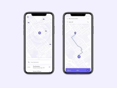 Grid App Concept map ui concept