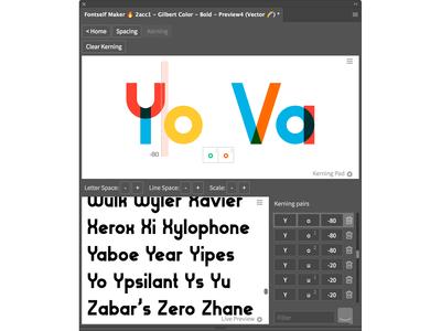 Kerning fonts just got easy!