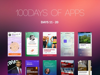 100Days of Apps - part II