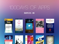 100Days of Apps - part IV