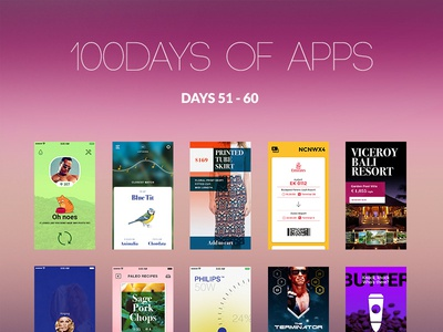 100Days of Apps - part VI