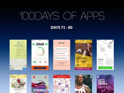 100Days of Apps - part VIII