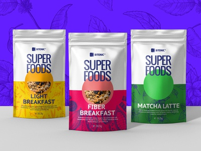 Superfoods - Concept Packaging