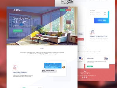 Villa Rentals - Homepage