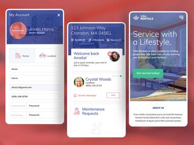 Villa Rentals - Mobile Screens