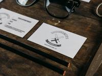 Scissorsmiths Barber Co - logo / branding