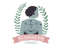 The circus series - the tattooed lady