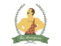 The circus series - The strongman