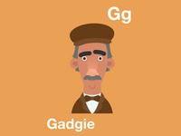 Newcastle alphabet - G for Gadgie
