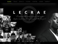 Lecrae - Gravity (Splash Page) by Alex Medina on Dribbble